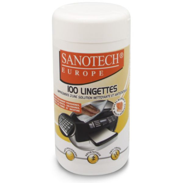 Lingettes nettoyantes antistatiques -