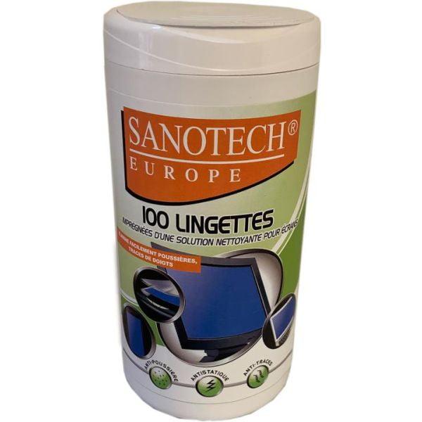 Boite distributrice de lingettes nettoyantes humides pour écrans - ST0175